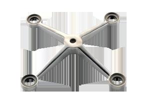 CKS-F-200-4 (spider fittings)