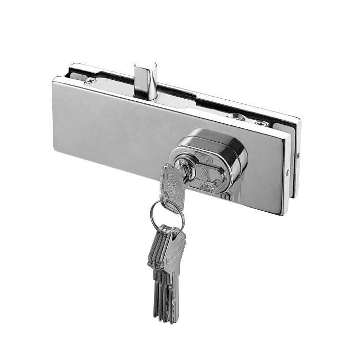 Cks Glass Hardware Glass Door Handle Glass Door Lock Supplier In
